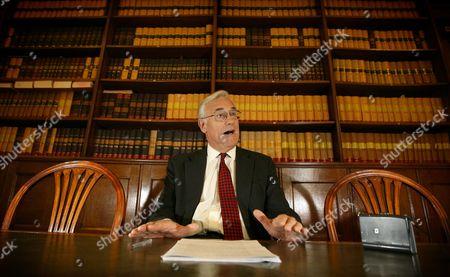 Editorial image of Sir Mark Potter, London, Britain - 16 Oct 2008