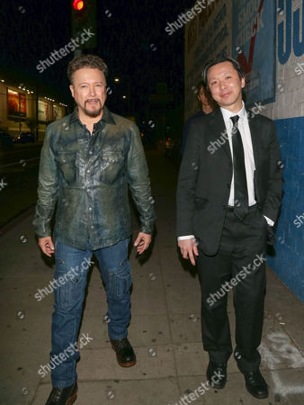 Stock Picture of Carlos Gallardo and Chee Keong Cheung