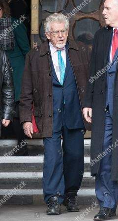 Editorial picture of Rolf Harris leaves The Royal Courts of Justice, London, UK - 08 Nov 2017