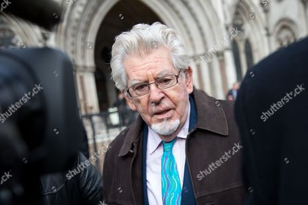 Editorial photo of Rolf Harris leaves The Royal Courts of Justice, London, UK - 08 Nov 2017