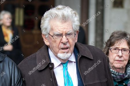 Editorial image of Rolf Harris leaves The Royal Courts of Justice, London, UK - 08 Nov 2017
