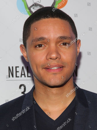 "Trevor Noah attends the Broadway opening night party of ""Neal Brennan 3 MICS"" at The Lynn Redgrave Theater, in New York"