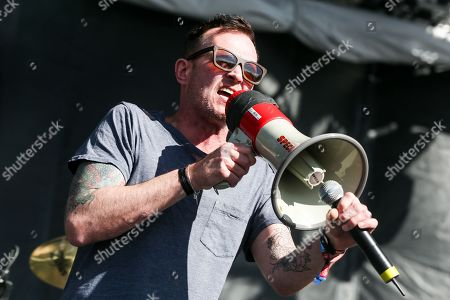 Stock Image of Scott Weiland performs at the 2015 BottleRock Napa Valley Music Festival at the Napa Valley Expo, in Napa, Calif