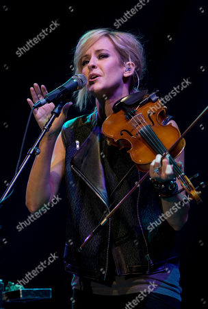 Martie Maguire of Dixie Chicks performs on stage during the Country to Country music concert, otherwise known as C2C, at the o2 in east London, . The annual country concert showcases some of the world's best country music artists