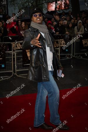 Actor Jaymes Butler poses for photographers upon arrival at the premiere of the film 'Snowden', showing as part of the London Film Festival in London
