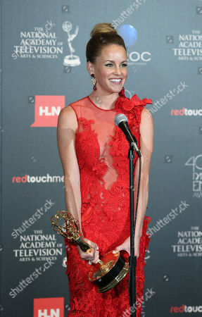 Julie Marie Berman seen at The 40th Annual Daytime Emmys Awards Press Room, on Sunday, June, 16, 2013 in Beverly Hills