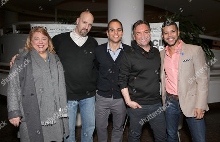 Women In Film's Lucy Webb, Tim Zaal, Director/Producer Jason Cohen, Matthew Boger and GLAAD Spokesman Wilson Cruz attend a Special Screening of Facing Fear at The Museum of Tolerance on in Los Angeles