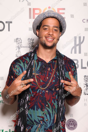 SkyBlu attends the HUBLOT VIP Welcome Reception during the 9th Annual Irie Weekend on Thursday, June, 27, 2013 at Hyde Beach at the SLS Hotel South Beach in Miami Beach, Fl