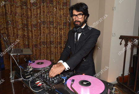 """DJ Myles Hendrik performs at the LA premiere of """"Mad Men"""" season 7 after party, in Los Angeles"""
