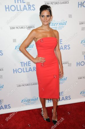 """Ashley Dyke attends a special screening of """"The Hollars"""" held at the Linwood Dunn Theater, in Los Angeles"""