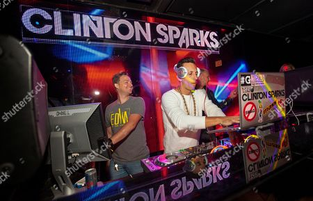 Clinton Sparks DJs at the Lollapalooza After-Show at The Underground, in Chicago