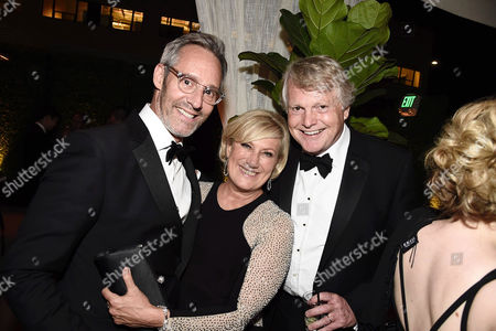 Michel Gill and Jayne Atkinson seen at Netflix 2016 Emmy Party at NeueHouse, in Los Angeles