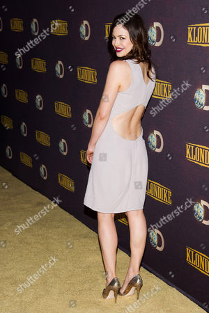 "Conor Leslie attends the premiere of the Discovery Channel's ""Klondike"" on in New York"