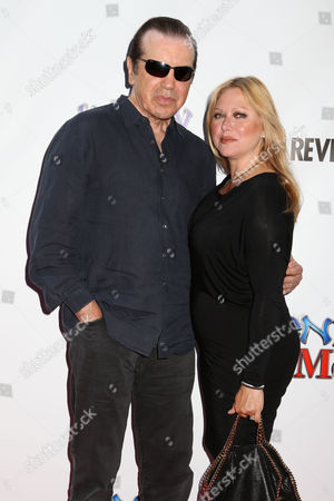 """Stock Picture of Actor Chazz Palminteri and wife Gianna Palminteri attend the premiere of """"Henry & Me"""" at the Ziegfeld Theatre on in New York"""