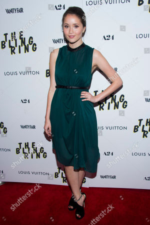 "Katie Chang attends a screening of ""The Bling Ring"" on in New York"