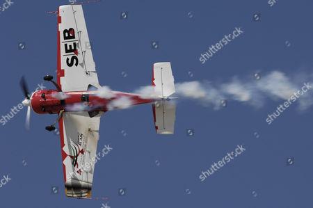 Stock Picture of Aerobatic flying by Svetlana Kapanina