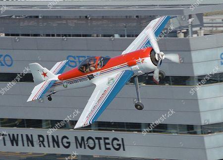 Aerobatic flying by Svetlana Kapanina