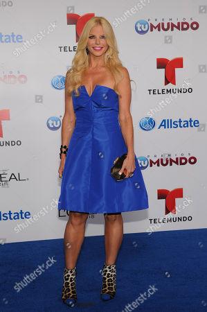 Editorial picture of Premios Tu Mundo Awards, Miami, USA - 15 Aug 2013