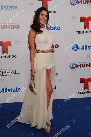 Daniela Navarro attends Telemundo's Premios Tu Mundo Awards at American Airlines Arena on in Miami, Florida