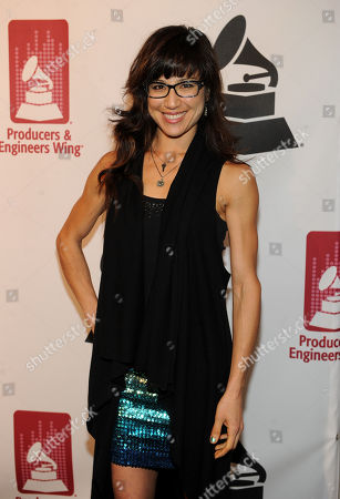Stock Image of Christine Wu arrives at the Producers and Engineers of The Academy's 7th Annual Grammy Week Event, at The Village Recording Studios, on in West Los Angeles, Calif