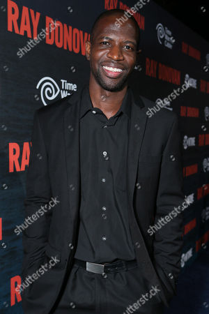 Kwame Patterson pictured at SHOWTIME and Time Warner Cable's Ray Donovan Season 2 premiere on Wednesday, July 9 at Nobu in Malibu, Calif