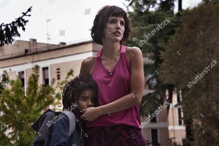 Stock Image of Odette Adado, Veronica Echegui