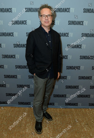"""Greg Brenman, Executive Producer at SundanceTV TCA Panel for """"The Normal Heart"""" at the Beverly Hilton on in Beverly Hills"""