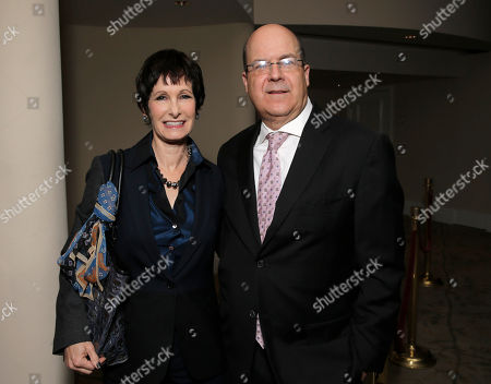 Gale Anne Herd and Jeff Wachtel attend The Caucus for Producers, Writers and Directors 31st Annual Awards, on Sunday, December, 1, 2013 in Beverly Hills, CA
