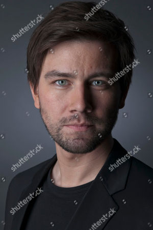 """Canadian actor and star of the CW Network series """"Reign,"""" Torrance Coombs poses for a portrait, on in New York"""