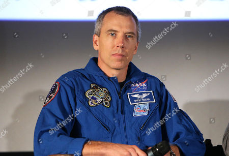 Astronaut Drew Feustel at the Twentieth Century Fox 'The Martian' Trailer Launch Event at United Artists La Canada Theater, in Pasadena, CA