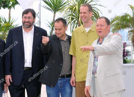 Ed Catmull , Bob Petersen, Jonas Rivera, Pete Docter, John Lasseter