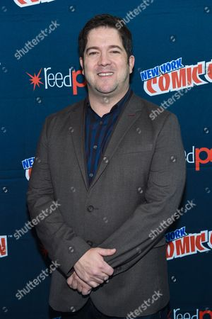 "Joe Pokaski is seen at WGN America's ""Underground"" New York Comic Con, on in New York"
