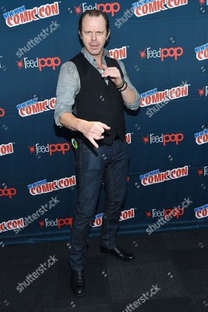 """Actor PJ Marshall is seen at WGN America's """"Underground"""" New York Comic Con, on in New York"""