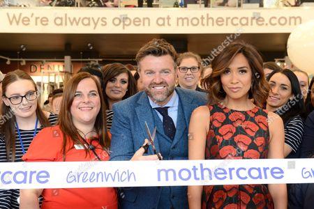 Editorial image of Myleene Klass opens new Mothercare store, Greenwich, London, UK - 08 Nov 2017