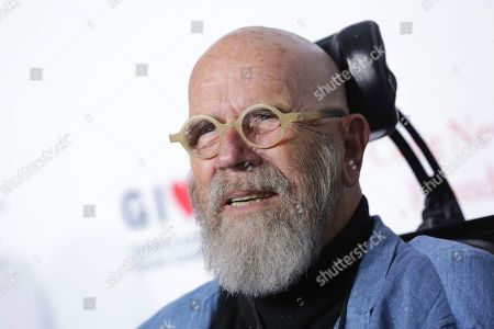 Artist Chuck Close attends the 11th Annual Stand Up for Heroes benefit, presented by the New York Comedy Festival and The Bob Woodruff Foundation, at the Theater at Madison Square Garden, in New York