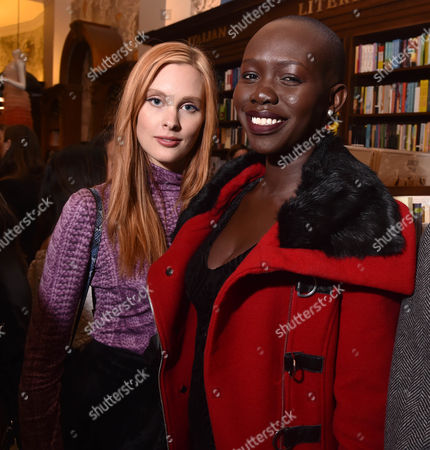 Editorial picture of 'Dresses to Dream About' book launch, Inside, New York, USA - 08 Nov 2017