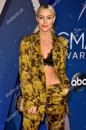 Editorial picture of 51st Annual CMA Awards, Arrivals, Nashville, USA - 08 Nov 2017