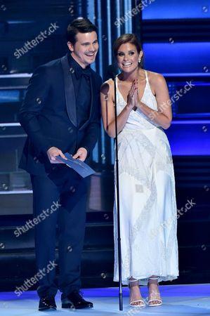 Jason Ritter and Joanna Garcia