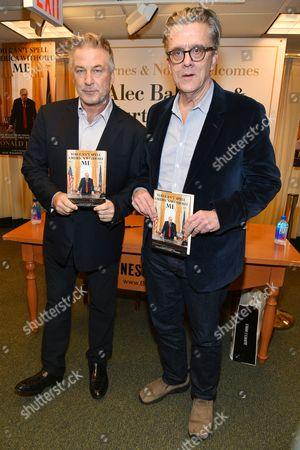 Stock Photo of Alec Baldwin and Kurt Andersen
