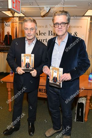 Editorial photo of 'You Can't Spell America Without Me: The Really Tremendous Inside Story of My Fantastic First Year as President Donald J. Trump (A So-Called Parody)' book signing, New York, USA - 08 Nov 2017