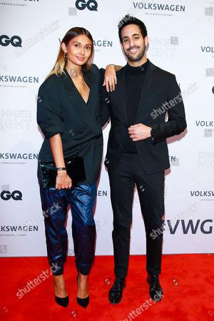 Wana Limar and Sami Slimani