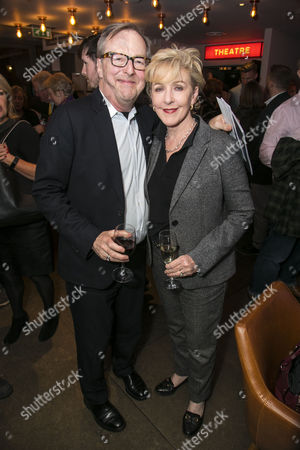 Edward Hibbert and Patricia Hodge