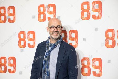 Editorial image of '89' film premiere, Arrivals, London, UK - 08 Nov 2017