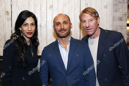 Huma Abedin, Amir Bar-Lev (Director), Eric Eisner (Producer)