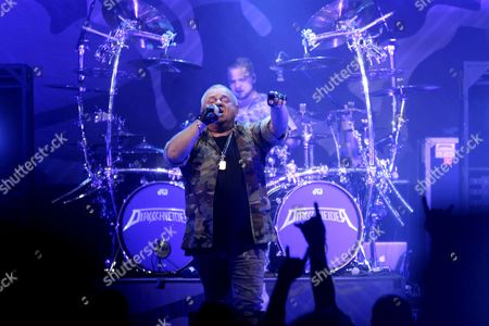 Editorial image of Udo Dirkschneider in concert, Riga, Latvia - 08 Nov 2017