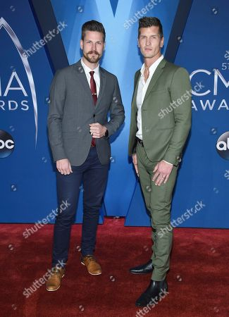 Curtis Rempel, Brad Rempel. Curtis Rempel, left, and Brad Rempel of High Valley arrive at the 51st annual CMA Awards, in Nashville, Tenn