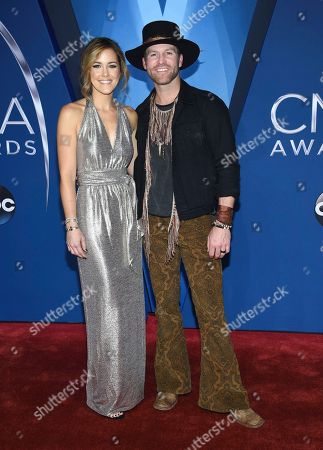 Drake White, Alexandra White. Drake White, right and Alexandra White arrive at the 51st annual CMA Awards, in Nashville, Tenn