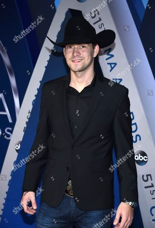 Stock Photo of William Michael Morgan arrives at the 51st annual CMA Awards, in Nashville, Tenn