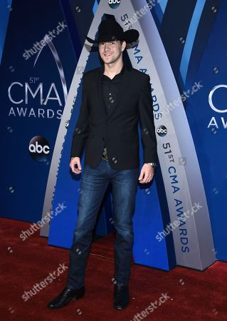Stock Picture of William Michael Morgan arrives at the 51st annual CMA Awards, in Nashville, Tenn