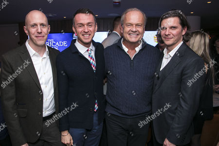John August (Author), Andrew Lippa (Music/Lyrics), Kelsey Grammer (Edward Bloom) and Nigel Harman (Director)
